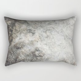 Pockets of Salt on the Rocks by the Sea Rectangular Pillow