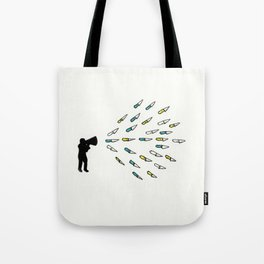 Sharp Words Tote Bag