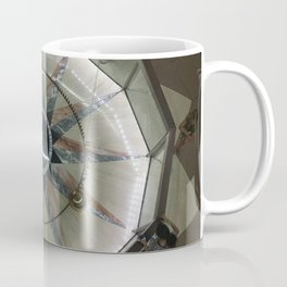 Foucault Pendulum from Above Coffee Mug