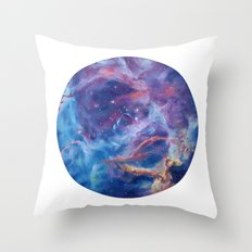 Rosette Nebula Throw Pillow