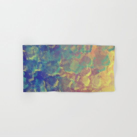 Watercolor Splash #4 #art #society6 Hand & Bath Towel