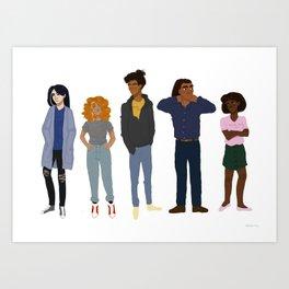 squad Art Print