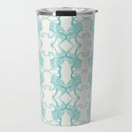 Blue Octacluar Octopus Travel Mug