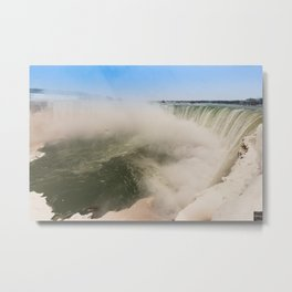 Niagara Falls Canadian... Metal Print