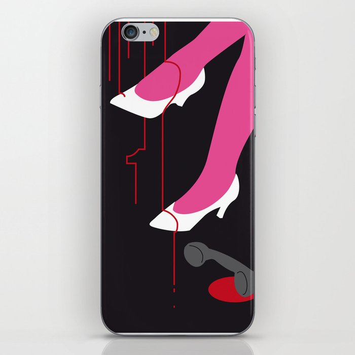 You can't wear white shoes after labour day. iPhone Skin