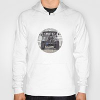 jeep Hoodies featuring Jeep No. 1 by Adam Ambro