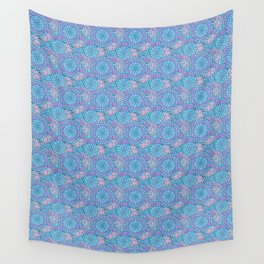 Winter Floral Wall Tapestry