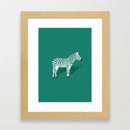 Animal Kingdom: Zebra III Framed Art Print