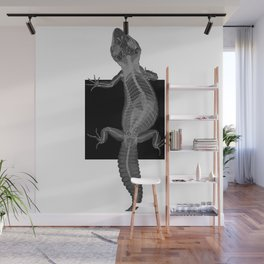 Gecko Skeleton Wall Mural