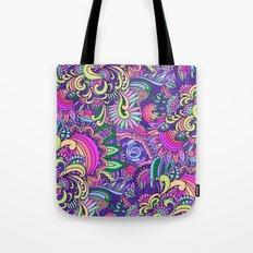 Doodle Florals Tote Bag