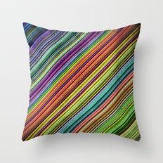 Stripes II Throw Pillow