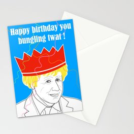 Bungling Twat Birthday Greeting Stationery Cards