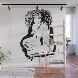 Woman Fatale Wall Mural