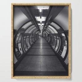 Embankment Underground Train Station, London Serving Tray