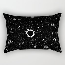 Galaxy in your Mind Rectangular Pillow