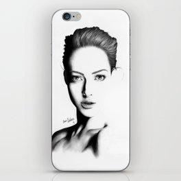 Portrait I iPhone Skin
