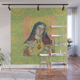 Virgin Mary Wall Mural