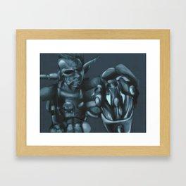 Cyber Erol Framed Art Print