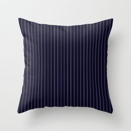 Perfect Pinstripes by Leslie Harlow Throw Pillow