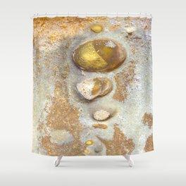 Natures Rock Art 2 Shower Curtain