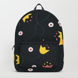 Winter Flowers Backpack