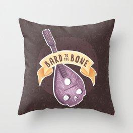 Class puns: Bard Throw Pillow
