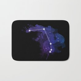 Aries constellation Bath Mat