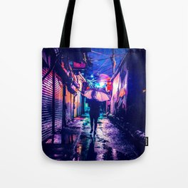 Colorful Seoul Tote Bag