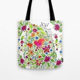 Joy in Your Smile Tote Bag