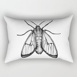 Wasp Moth Rectangular Pillow