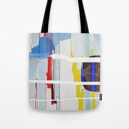 Shattered Waveform Tote Bag