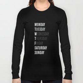 Black WFT Week Long Sleeve T-shirt