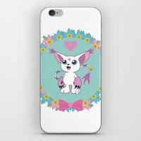 digimon iPhone & iPod Skins featuring Girly Gatomon by hannahroset