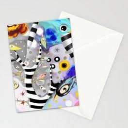We gotta get away from here - Venzuela - BIRDS STRIPED TREE Stationery Cards