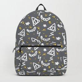 Potter Pattern Backpack