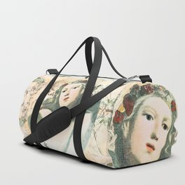 Flora - muse for Spring Duffle Bag
