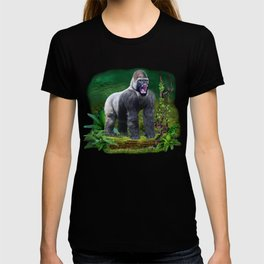 Silverback Gorilla Guardian of the Rainforest T-shirt