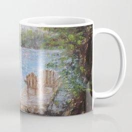 Eagle's Mere Respite by Marianne Fadden Coffee Mug