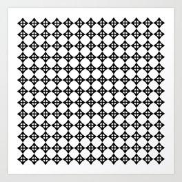 star octahedron prnt 1a Art Print