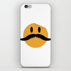 Moustache 01 iPhone & iPod Skin