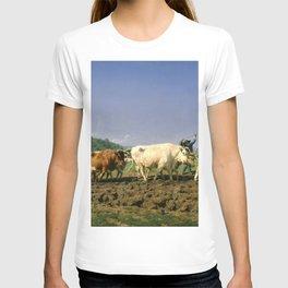 12,000pixel-500dpi - Rosa Bonheur - Plowing Nivernais - Digital Remastered Edition T-shirt