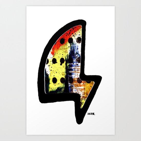 j52o. logo Art Print