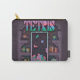 Tetrominoes Carry-All Pouch