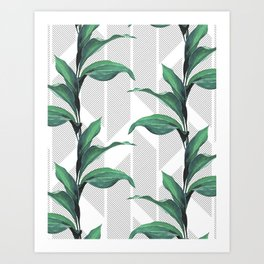Greenhouse -jungle Art Print