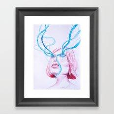 fluido Framed Art Print