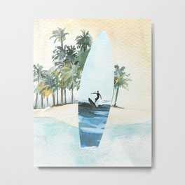 Surfin Safari Metal Print