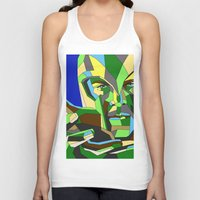 magneto Tank Tops featuring Magneto by Liam Brazier