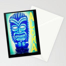 Aloha Tiki Stationery Cards