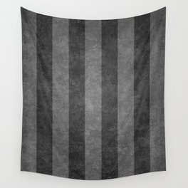 Grey Stripes Wall Tapestry