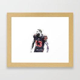Odell Beckham posters Framed Art Print